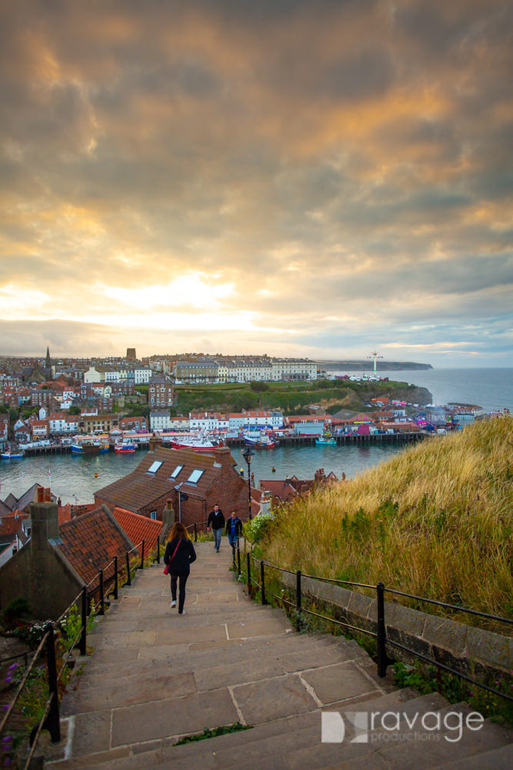 Whitby steps © Duncan Lomax Ravage Productions
