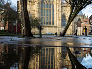 On reflection - a different view of York Minster