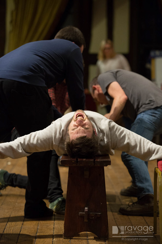 Crucifixion rehearsals