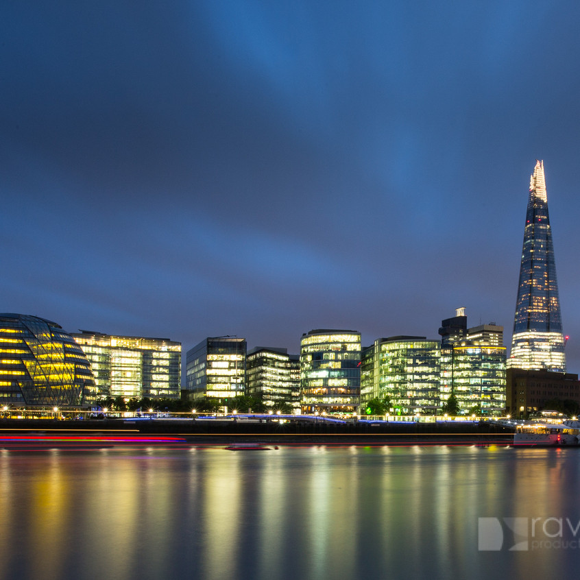 London skyline by Duncan Lomax