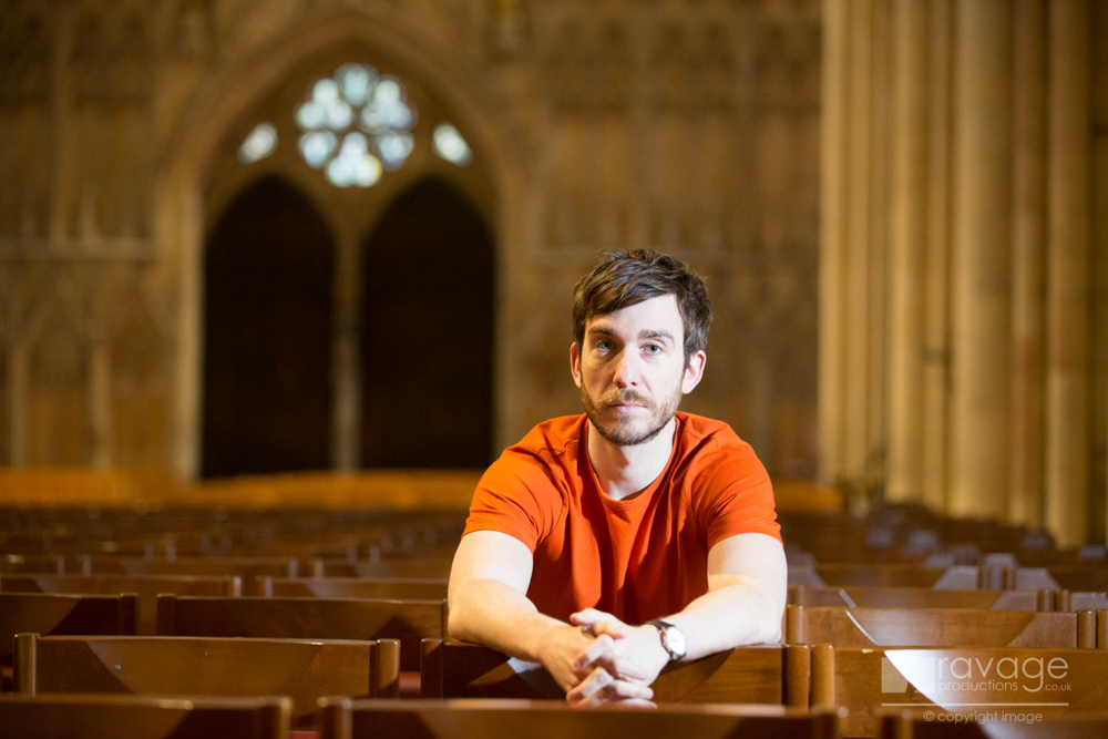 Philip McGinley in the Minster