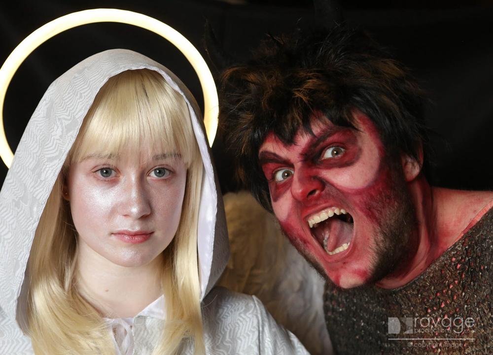 Angels and Devils PR shoot