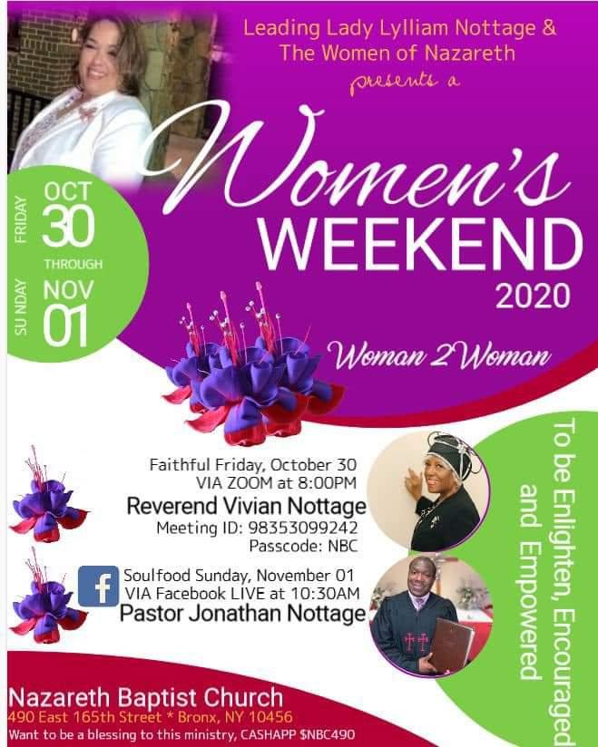Women's Weekend 2020