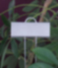 tall garden markers for plants