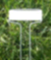 weatherproof garden plant labels