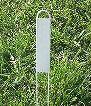 hairpin style garden plant marker