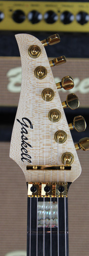 Gaskell Eagle headstock.