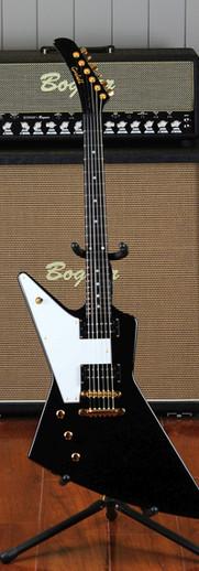 Gaskell Left handed Explorer guitar