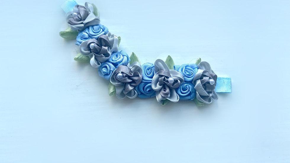 Limited Editon RBS Blue and Grey Bun Pin