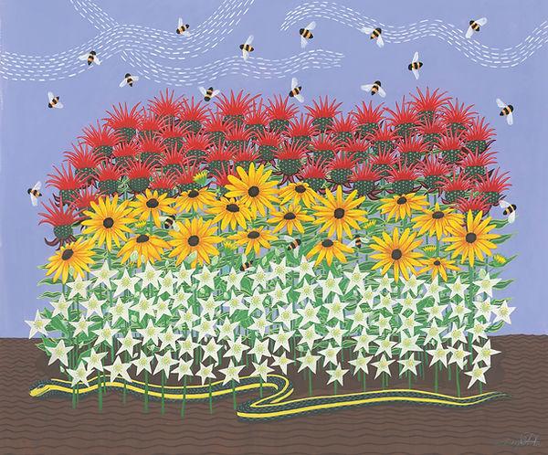 BeeBalm and Blackeyed Susans.jpg