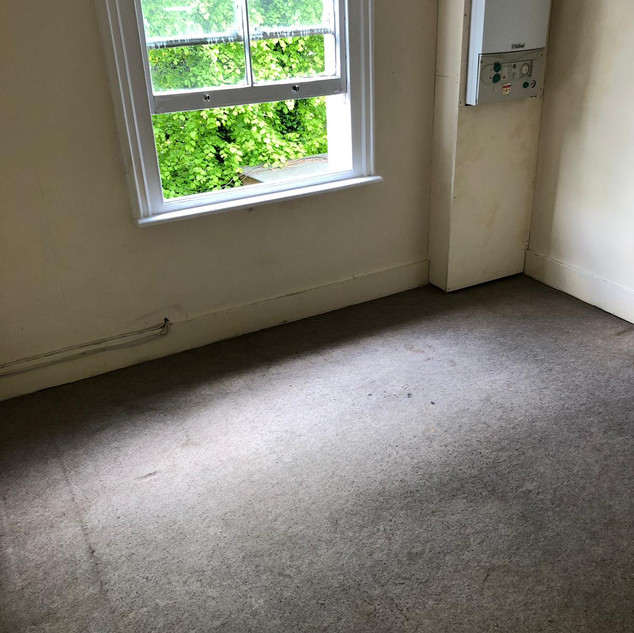 Second floor carpet