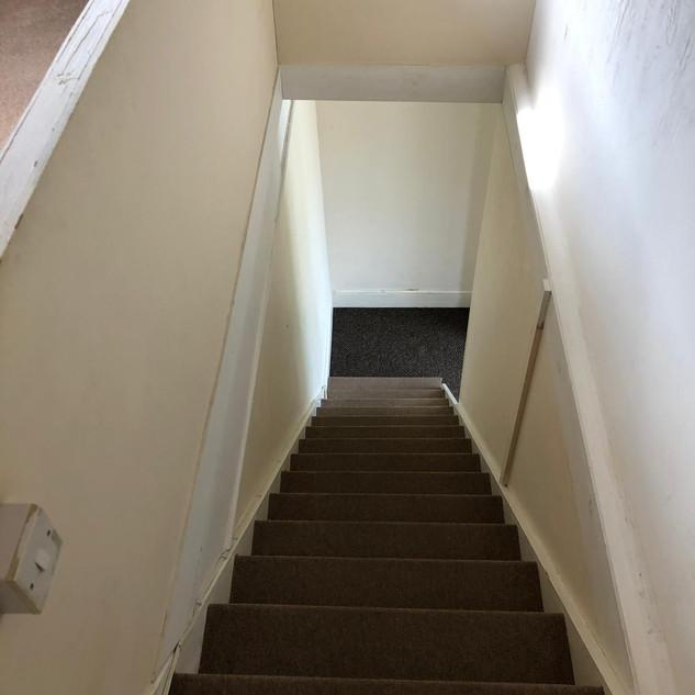Carpet staircase