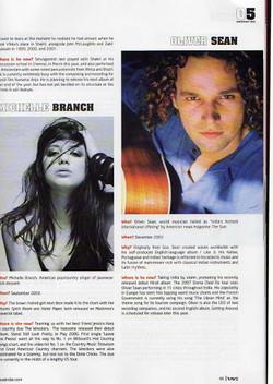 Oliver Sean Michelle Branch Magazine Feature
