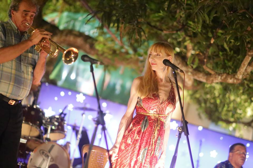 Laura Ainsworth Live at WOA Records India Tour and WOA International Festival 2015