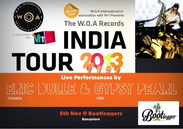 WOA Records India Tour and Internati