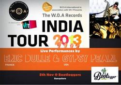WOA Records India Tour and Internati