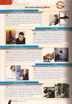 Oliver Sean AVMax Album of Year Feature