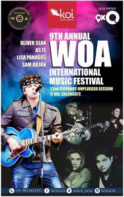 Oliver Sean WOA Festival 2017