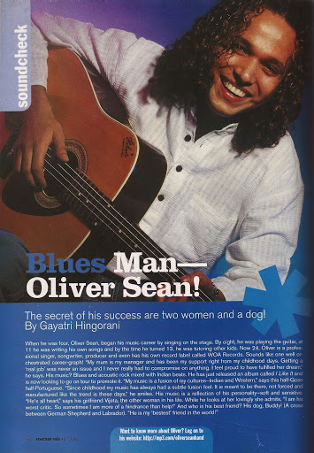 Oliver Sean Seventeen Magazine Feature
