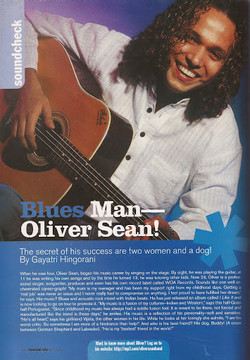 Oliver Sean Seventeen Magazine Feature