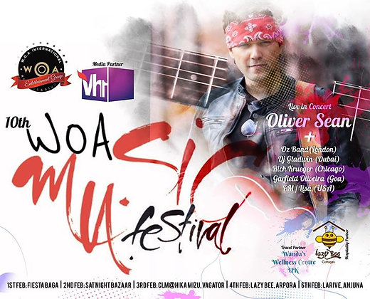 The 11th W.O.A International Music Festival - Goa 2020