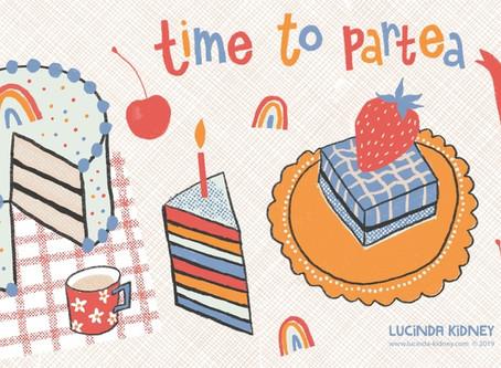 Birthday Bash Illustration