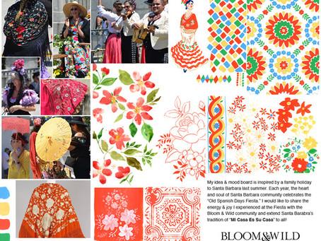 Summer Brights for Bloom & Wild