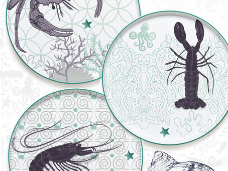 Crustaceans and Patterns Mash-up
