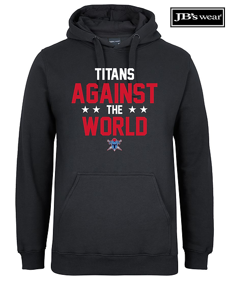 Titans Against the World JB Wears Fleecy Hoodie (Unisex)