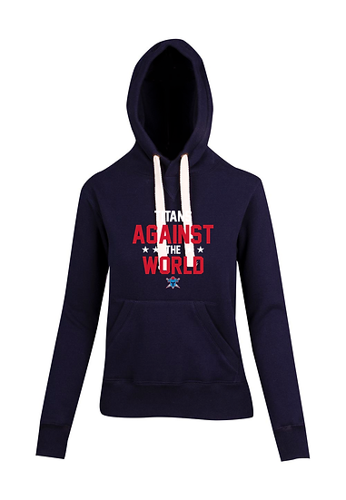 Titans Against the World Brushed Heavy Fleece Hoodie (Juniors)
