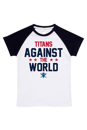 Titans Against the world Raglan Tee (Babies)