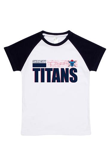 Titans Abstract Raglan Tee (Babies)