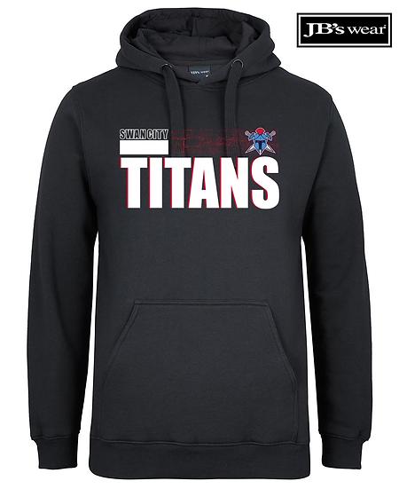 Titans Abstract JB Wears Fleecy Hoodie (Unisex)