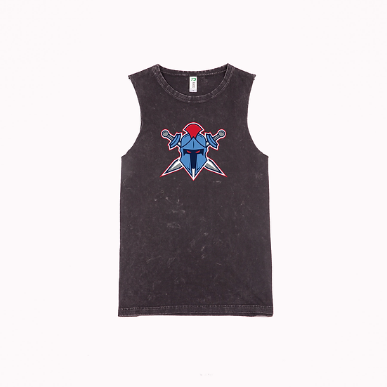 Titans Hemet Logo Stone Washed Tank (Ladies)