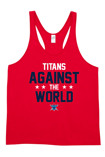 Titans Against the World T-Back Singlet (Mens)