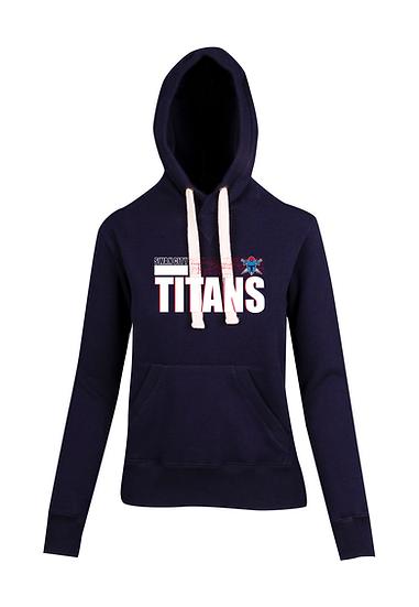 Titans Abstract Brushed Heavy Fleece Hoodie (Juniors)