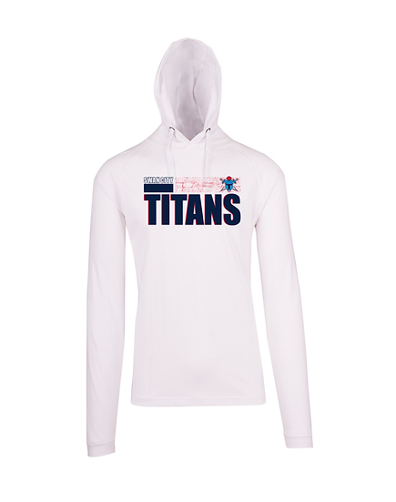 Titans Abstract FUSION T-shirt Hoodie (Mens)