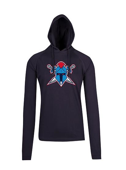 Titans Helmet Logo FUSION T-shirt Hoodie (Mens)