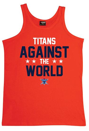 Titans Against the World Singlet (Mens)