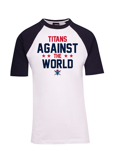 Titans Against the World Raglan Tee (Unisex)