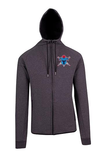 Titans Helmet Logo Polar Fleece Hooded Jacket (Mens)