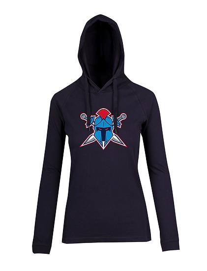 Titans Helmet Logo FUSION T-shirt Hoodie (Ladies)