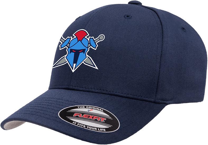 Titans Helmet Logo Wooley Combed Flexfit® Cap