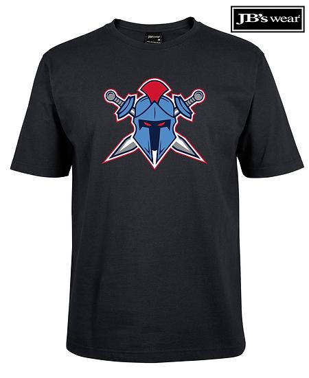 Titans Helmet Logo JB Wears Tee (Unisex)
