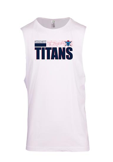 Titans Abstract Sleeveless T-Shirt (Mens)