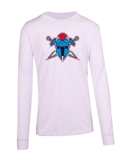 Titans Helmet Logo Long Sleeve Tee (Mens)