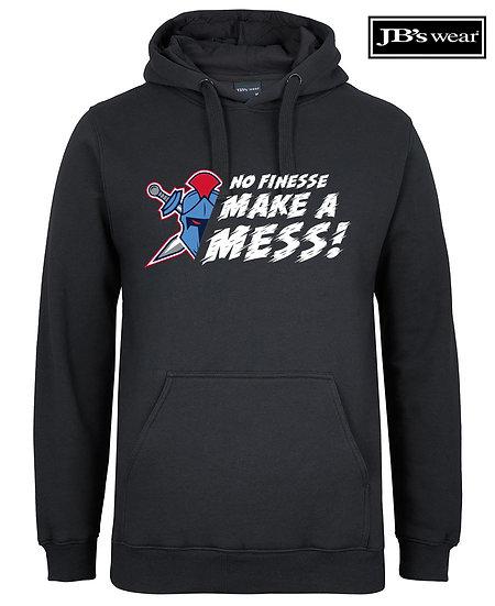 No Finesse JB Wears Fleecy Hoodie (Unisex)