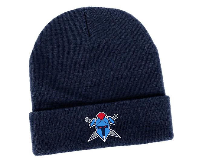 Titans Helmet Logo Knitted Beanie