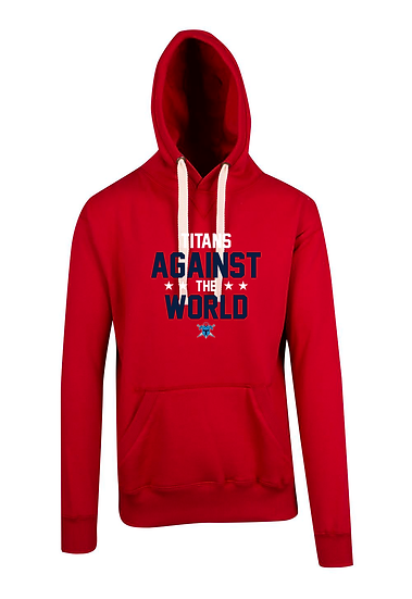 Titans Against the World Brushed Heavy Fleece Hoodie (Mens)