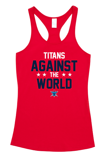 Titans Against the World T-Back Singlet (Ladies)